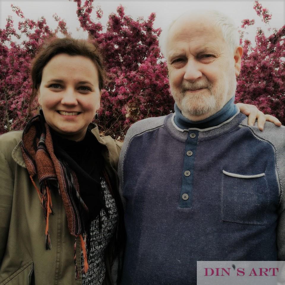 Henk en Adinda Groenhuis foto voor Over Ons Pagina vierkant Alex effect plus filter