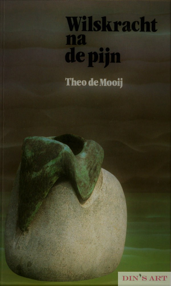 Kaft boek Wilskracht na de pijn - cover Will Power after the Pain
