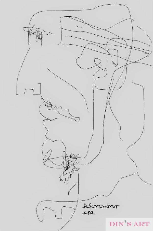 Zelfportret - Self portrait